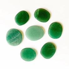 Load image into Gallery viewer, Green Aventurine Palm Stone | GULA MAGICK