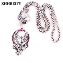 Load image into Gallery viewer, Pheonix Talisman Amulet Viking Necklace | GULA MAGICK
