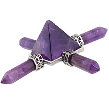 Load image into Gallery viewer, Amethyst Pyramid Energy Generator | GULA MAGICK