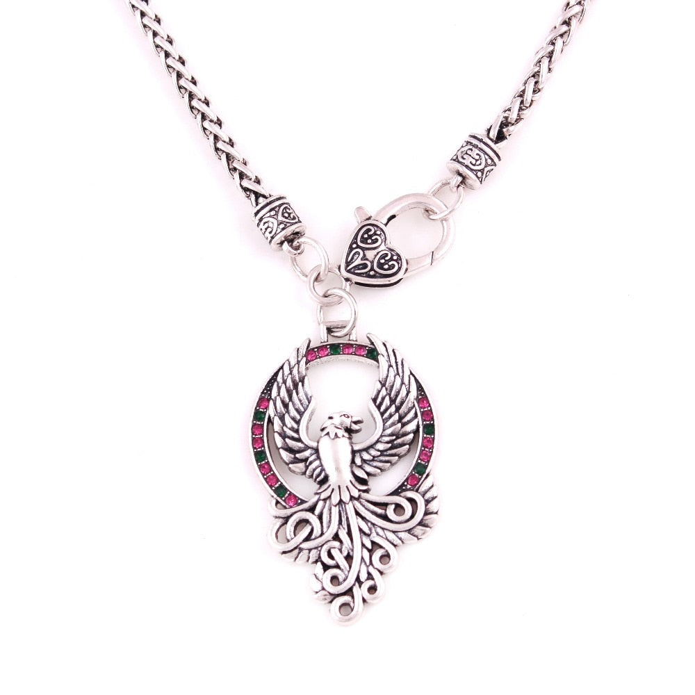 Pheonix Talisman Amulet Viking Necklace | GULA MAGICK