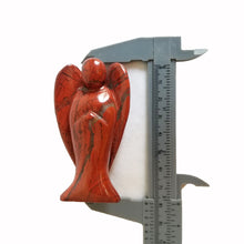 "Load image into Gallery viewer, Red Jasper Angel Stone, 1.5"" or 3"" Tall 