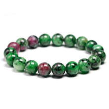 Load image into Gallery viewer, Ruby Zoisite Beaded Crystal Bracelet | GULA MAGICK