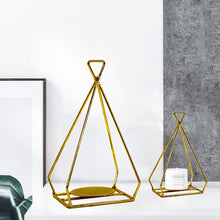 Load image into Gallery viewer, Hanging Pyramid Candleholder | GULA MAGICK