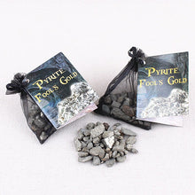 Load image into Gallery viewer, Pyrite Gravel Stone Bag | GULA MAGICK