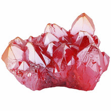 Load image into Gallery viewer, Red Angel Aura Crystal Cluster | GULA MAGICK