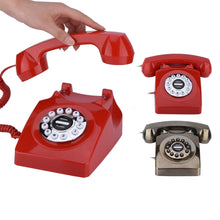 Load image into Gallery viewer, Retro Landline Dial Phone | GULA MAGICK