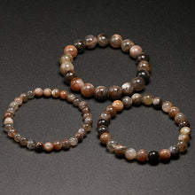 Load image into Gallery viewer, Brown Sunstone Beaded Crystal Bracelet | GULA MAGICK