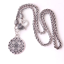 Load image into Gallery viewer, Protection Rune Viking Necklace | GULA MAGICK