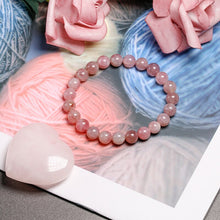 Load image into Gallery viewer, Madagascar Pink Quartz Beaded Crystal Bracelet | GULA MAGICK