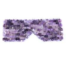 Load image into Gallery viewer, Amethyst Crystal Eye Mask | GULA MAGICK