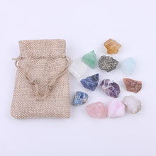 Load image into Gallery viewer, Quartz Stone Crystal Pouch | GULA MAGICK