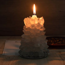 Load image into Gallery viewer, Clear Quartz Tealight Holder | GULA MAGICK