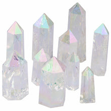 Load image into Gallery viewer, Angel Aura Crystal Wand | GULA MAGICK