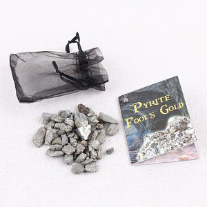Pyrite Gravel Stone Bag | GULA MAGICK