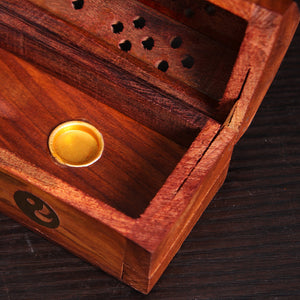 Elephant Wooden Incense Box | GULA MAGICK