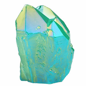 Green Angel Aura Crystal Cluster | GULA MAGICK