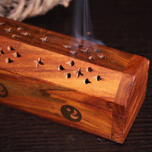 Load image into Gallery viewer, Elephant Wooden Incense Box | GULA MAGICK