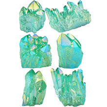 Load image into Gallery viewer, Green Angel Aura Crystal Cluster | GULA MAGICK