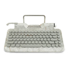 Load image into Gallery viewer, Baroque Angel Marble Typewriter | GULA MAGICK