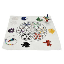 Load image into Gallery viewer, Flower of Life Crystal Healing Kit | GULA MAGICK