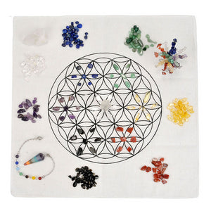 Flower of Life Crystal Healing Kit | GULA MAGICK