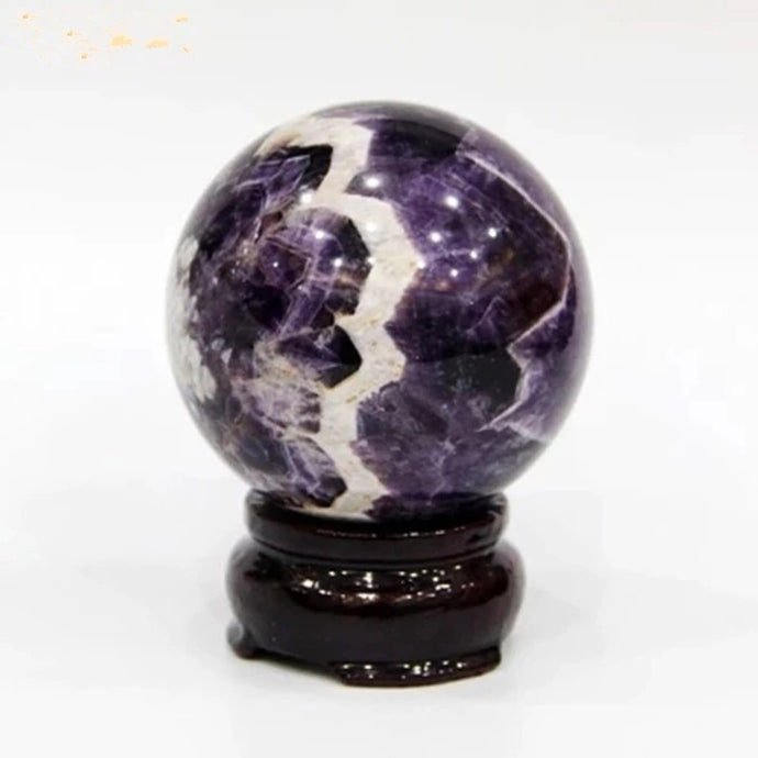 Dream Amethyst Crystal Ball, 10cm, X-Large | GULA MAGICK