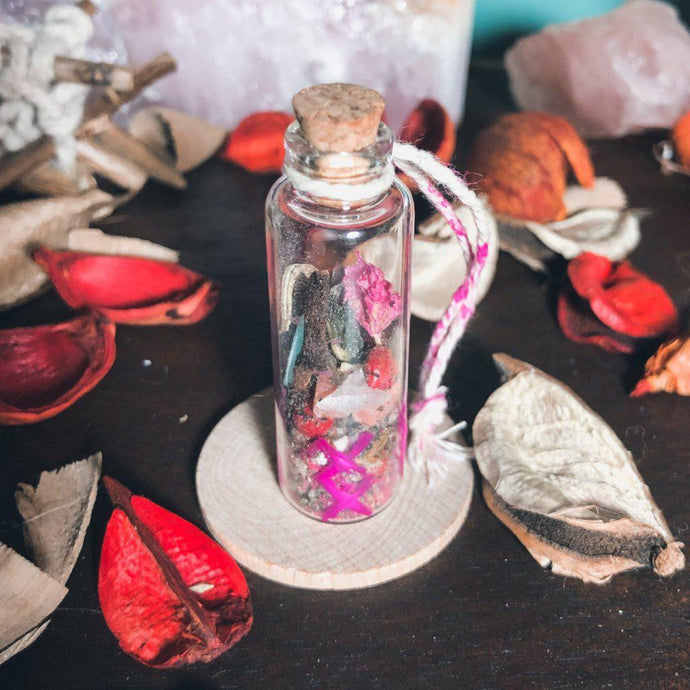 True Love Blessing Magick Bottle - GULA MAGICK