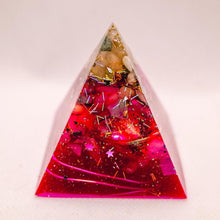 Load image into Gallery viewer, Love Orgonite Pyramid | Large - GULA MAGICK