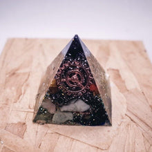 Load image into Gallery viewer, Positivity Orgonite Pyramid | Small - GULA MAGICK