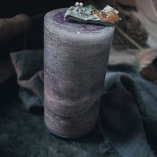 Load image into Gallery viewer, Personal Empowerment Stone Candle, Beaded Bracelet | GULA MAGICK