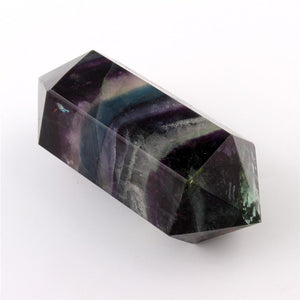 Fluorite Double Point Wand | GULA MAGICK