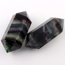 Load image into Gallery viewer, Fluorite Double Point Wand | GULA MAGICK
