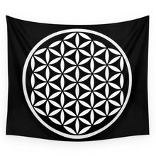 Load image into Gallery viewer, Flower Of Life Tapestry | GULA MAGICK