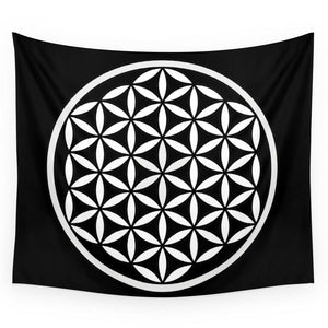 Flower Of Life Tapestry | GULA MAGICK