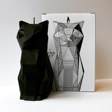 Load image into Gallery viewer, Handmade Cat Candle with skeleton | GULA MAGICK