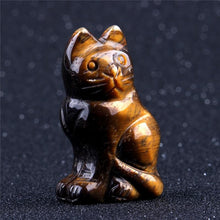 "Load image into Gallery viewer, Noble Cat Stone, 2"" tall 
