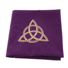 Load image into Gallery viewer, Embroidery Tarot TableCloth - GULA MAGICK