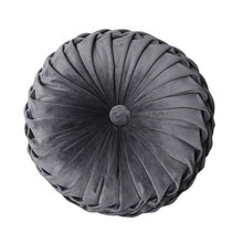 Load image into Gallery viewer, Pumpkin Wheel Velvet Cushion | GULA MAGICK
