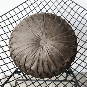 Pumpkin Wheel Velvet Cushion | GULA MAGICK