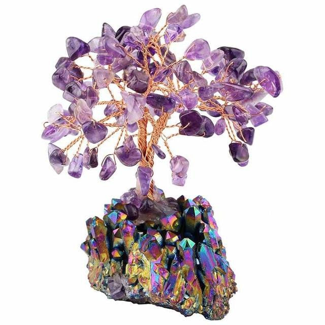 Bonsai Titanium Cluster Wealthy Tree - GULA MAGICK