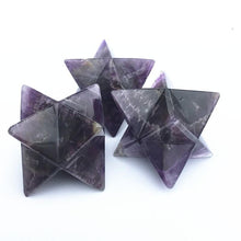 Load image into Gallery viewer, Amethyst Merkaba Star - GULA MAGICK