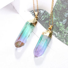Load image into Gallery viewer, Wand Pointed Stones Necklace | GULA MAGICK