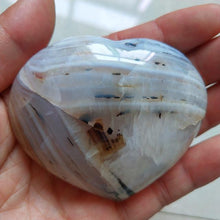 Load image into Gallery viewer, Aquatic Agate Heart Stone, One-Off Bundle 1 | GULA MAGICK