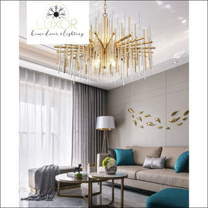chandeliers Kaity Crystal Chandelier - Luxor Home Decor & Lighting