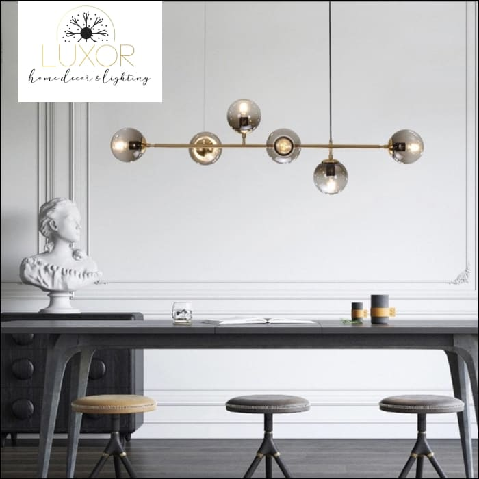 Yanzi Linear Suspensión Pendant Light - pendant lighting