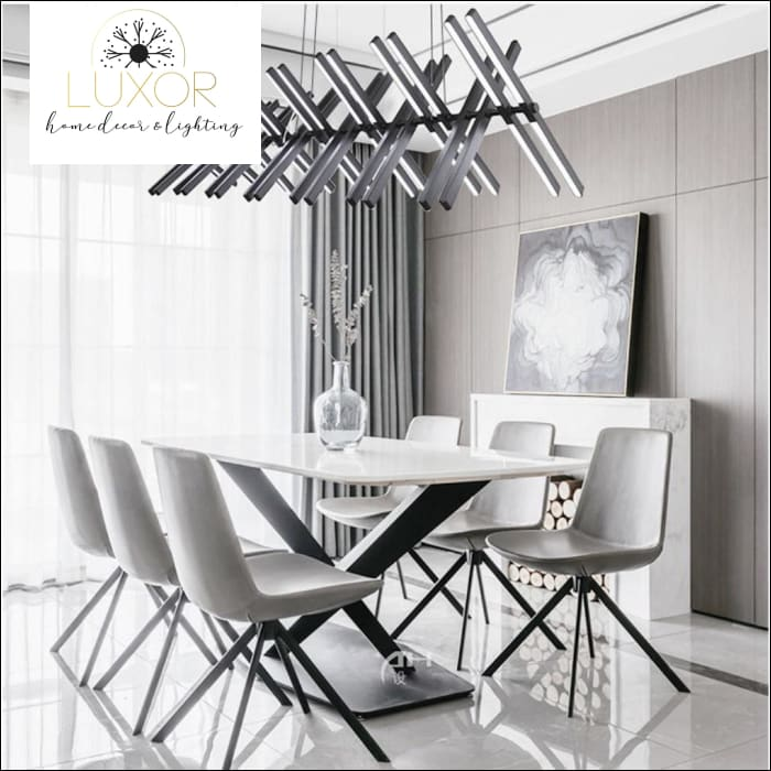Chandeliers Pix Sticks Nordic Chandelier - Luxor Home Decor & Lighting
