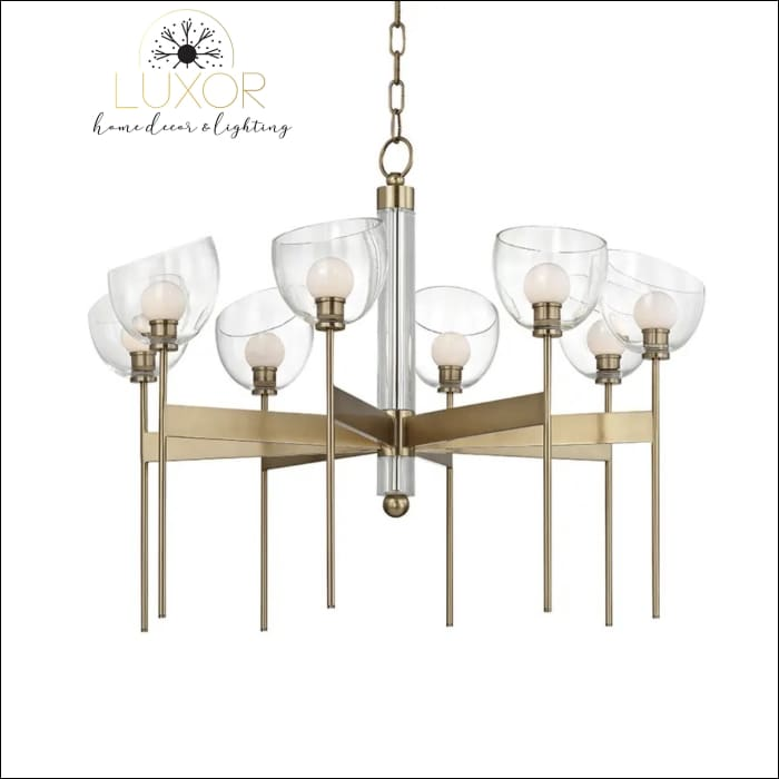 chandeliers Salem 6 - Light Shaded Wagon Wheel Chandelier - Luxor Home Decor & Lighting