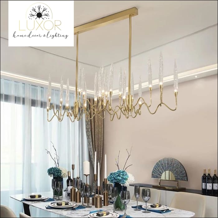 Fanly Crystal Chandelier - chandelier