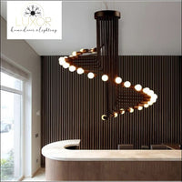 Chandeliers Elanis Spiral Chandelier - Luxor Home Decor & Lighting