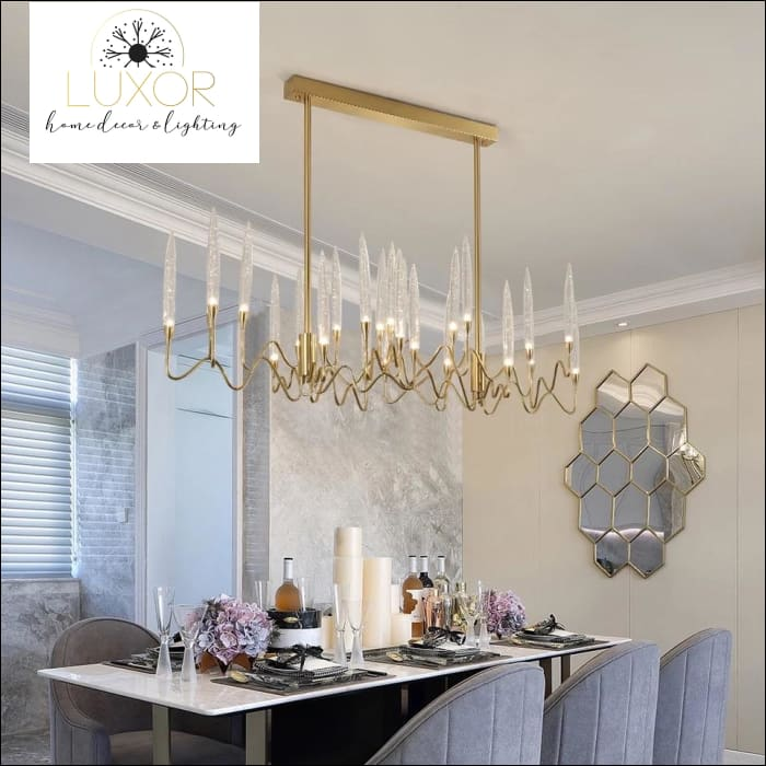 chandelier Fanly Crystal Chandelier - Luxor Home Decor & Lighting